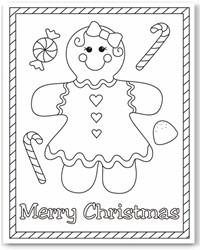 Free Christmas Printables Coloring