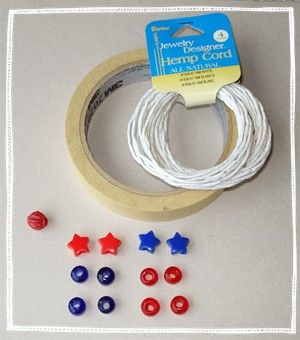 Craft Ideas Images on 4th Of July Craft Ideas  Patriotic Bracelet Instructions