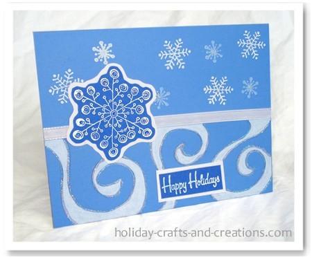 Christmas Greetings Card Making Ideaspennant Parade