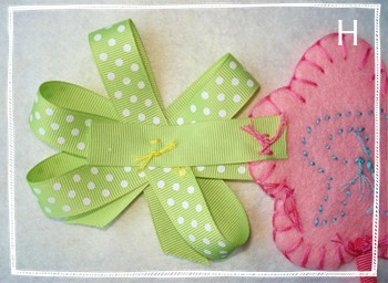 Craft Ideas Ribbon on Instructions For Easter Craft Ideas  Felt Easter Garland