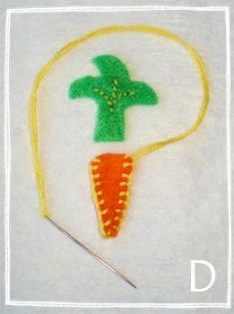Easter Craft Ideas Felt Easter Garland