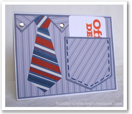Craft Ideas  Photographs on Fathers Day Cards  Shirt Pocket Cards
