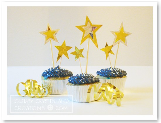 Cupcake Decorating Ideas New Years Eve : Cupcake Decorating Ideas For New Year s Eve