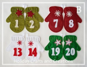 advent calendar pattern