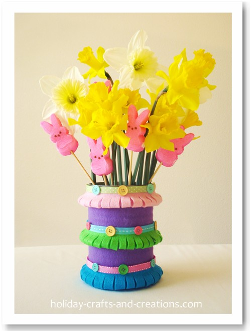 Materials For Easy Easter Crafts For Kids: