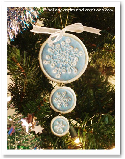 Image from for Easy to make christmas decorations