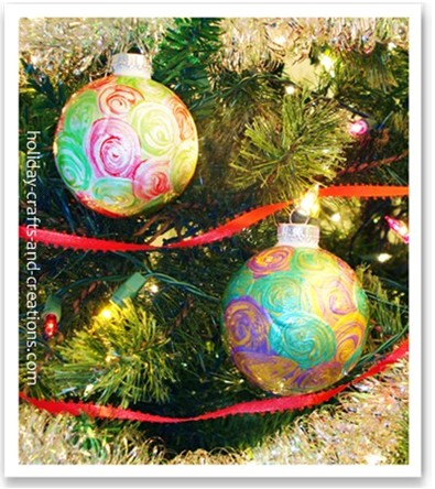 easy to make christmas ornaments