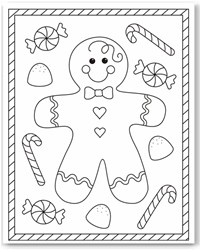 picture about Printable Christmas Crafts called No cost Xmas Printables - Coloring Webpages