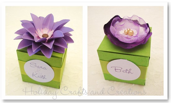 Free Gift Box Templates For Wedding Favors – Templates for Gift Boxes