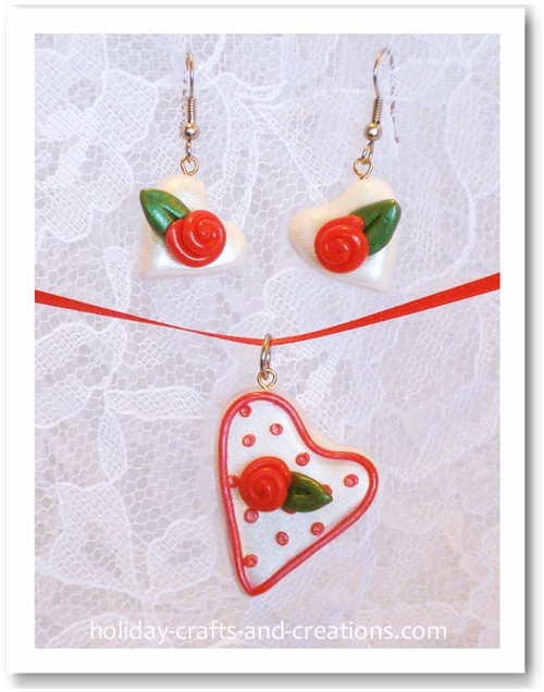 Homemade Valentine Ideas Homemade Earrings Valentine Art Projects