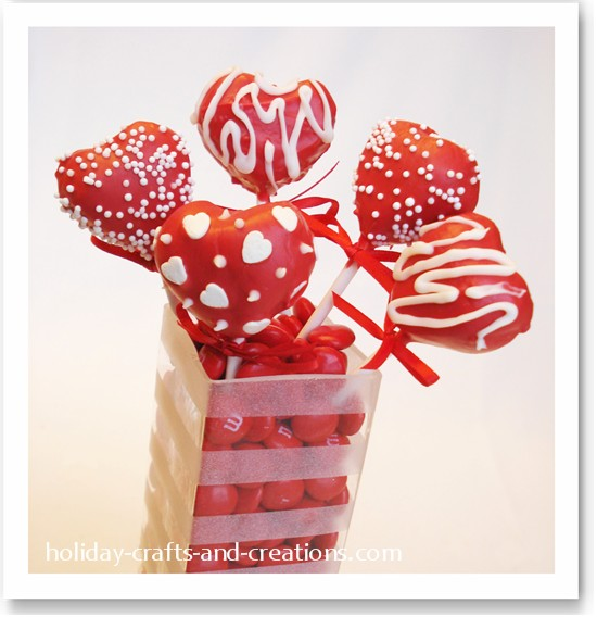 Homemade valentine ideas cookie dough treats for Home made valentine decorations