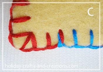 how to do blanket stitch