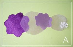 как сделать ткань цветов