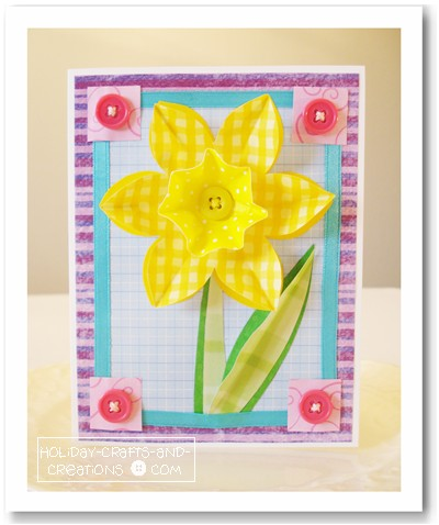 Scrapbooking Card Ideas Daffodil Crafts