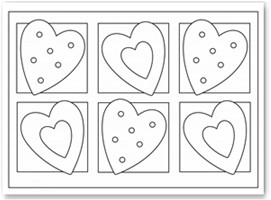 Images of Valentine Heart Coloring Pages - Sabadaphnecottage