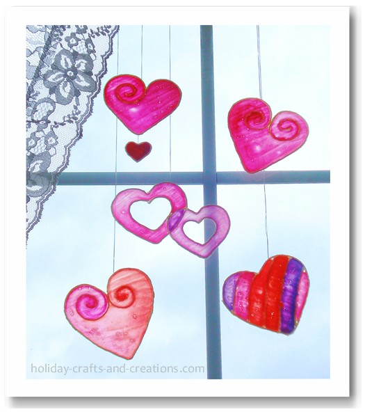 Valentine craft, kids' craft, Valentines decor