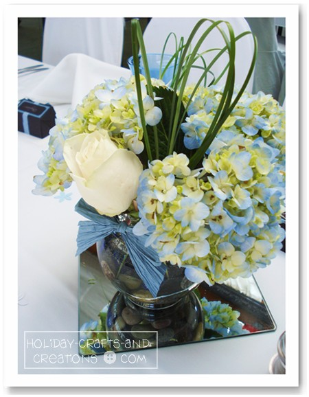 made for her daughter Laurel 39s wedding wedding centerpiece ideas