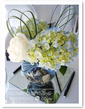 Wedding Centerpiece Ideas: Hydrangea Wedding Bouquets