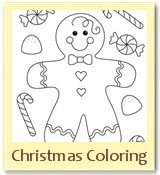 christmas color pages