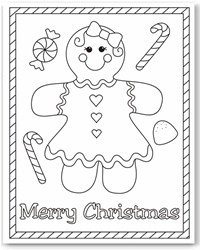christmas color page christmas color page - Free Christmas Coloring Pages