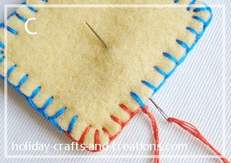 how to do a blanket stitch on a sewing machine