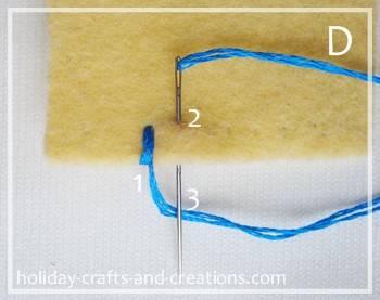 Phenomenal How To Do Blanket Stitch Wiring 101 Omenaxxcnl