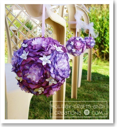 Wedding pomander balls peony design and they look just like the real thing we will show you step by step how to make these pomanders including the paper flower instructions pomander balls mightylinksfo Choice Image